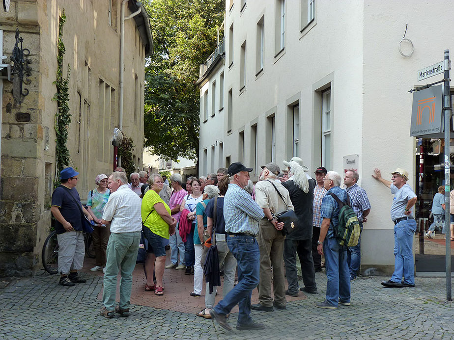 Sankt Crescentius on Tour in Osnabrück (Foto: Karl-Franz Thiede)